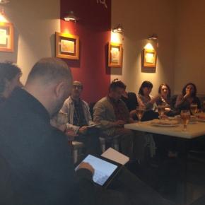 Crònica del #bibglop1: Les biblioteques i el bé comú (10/12/2013), amb MarinaGarcés