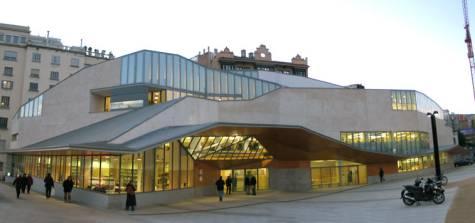 Biblioteca Jaume Fuster (c) fotografia: JM Montaner