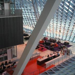 Crònica del #bibglop 2 Biblioteca i context urbà: l'encaix de l'equipament en l'entorn (11/02/2014), amb Josep MariaMontaner