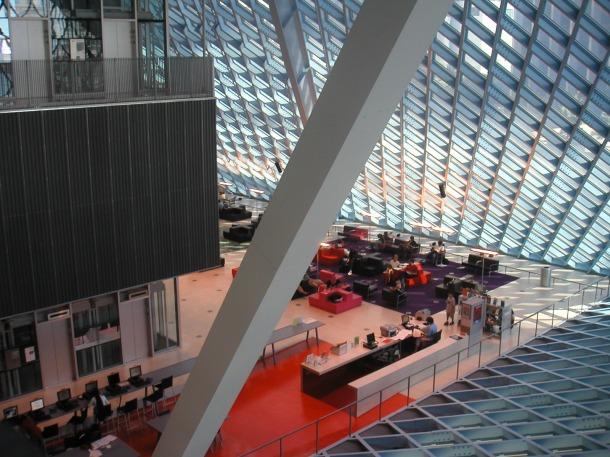 Seattle Central Library (c) fotografia: JM Montaner